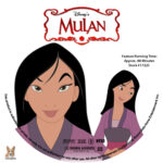 Mulan (1998) R1 Custom Labels