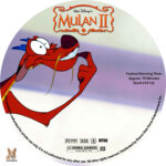 Mulan II (2005) R1 Custom Labels