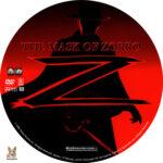 The Mask of Zorro (1998) R1 Custom Labels