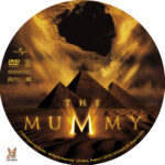 The Mummy (1999) R1 Custom Label
