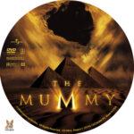 The Mummy (1999) R1 Custom Label