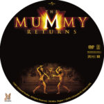The Mummy Returns (2001) R1 Custom Label