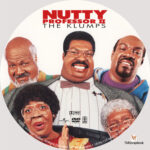 Nutty Professor: The Klumps (2000) R1 Custom Label