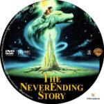 The NeverEnding Story (1984) R1 Custom Label
