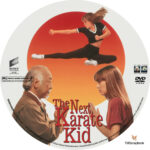 The Next Karate Kid (1994) R1 Custom dvd label