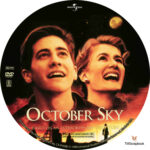October Sky (1999) R1 Custom Label