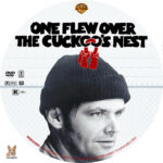 One Flew Over the Cuckoo's Nest (1975) R1 Custom Label