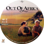 Out of Africa (1985) R1 Custom Label