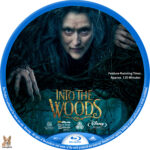 Into the Woods (2014) R1 Custom Blu-Ray Labels