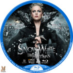 Snow White & the Huntsman (2012) R1 Custom Blu-Ray Labels