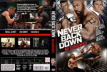 Never Back Down No Surrender (2016) R0 CUSTOM Cover & label