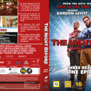 The Night Before (2015) R2 Blu-Ray Nordic Cover