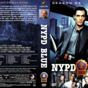 NYPD Blue – Season 2 (1994) R1 Custom Covers