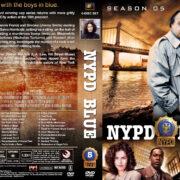 NYPD Blue – Season 5 (1997) R1 Custom Covers
