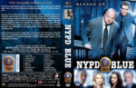 NYPD Blue – Season 9 (2001) R1 Custom Covers