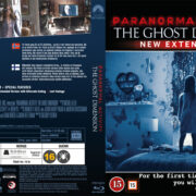 Paranormal Activity 5 The Ghost Dimension (2015) R2 Blu-Ray Nordic Cover