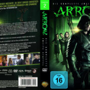 Arrow Staffel 2 (2013) R2 German Custom Cover & labels
