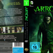 Arrow Staffel 3 (2014) R2 German Custom Cover & labels