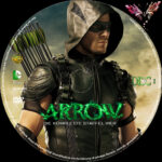 Arrow Staffel 4 (2015) R2 German Custom Labels