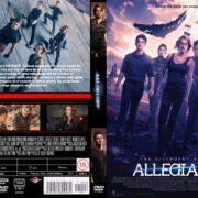 Allegiant (2016) R0 CUSTOM Cover & label