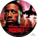 Passenger 57 (1992) R1 Custom Label