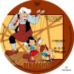 Pinocchio (1940) R1 Custom Labels