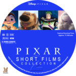 Pixar Short Films Collection – Volume 2 (2012) R1 Custom Label