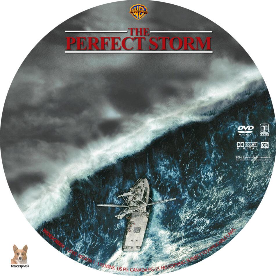 The Perfect Storm Dvd Label 2000 R1 Custom