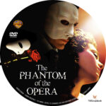 The Phantom of the Opera (2004) R1 Custom Label