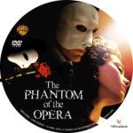 The Phantom of the Opera (2004) R1 Custom Label