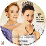 The Princess Diaries (2001) R1 Custom Label