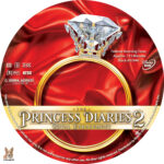 The Princess Diaries 2 (2004) R1 Custom label