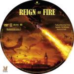 Reign of Fire (2002) R1 Custom label