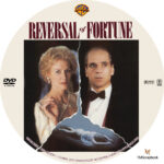 Reversal of Fortune (1990) R1 Custom Label
