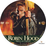 Robin Hood: Prince of Thieves (1991) R1 Custom Label