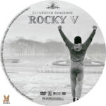 Rocky V (1990) R1 Custom label