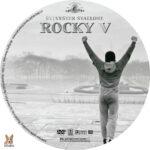 Rocky V (1990) R1 Custom label