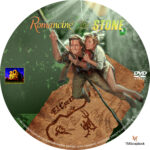 Romancing the Stone (1984) R1 Custom label