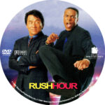 Rush Hour (1998) R1 Custom label