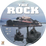The Rock (1996) R1 Custom labels