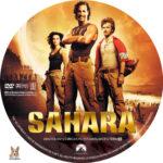 Sahara (2005) R1 Custom Label