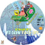 Spongebob Squarepants: Frozen Face-Off (2011) R1 Custom label