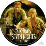 Six Days Seven Nights (1998) R1 Custom label