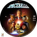 Spaceballs (1987) R1 Custom Label