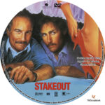 Stakeout (1987) R1 Custom Label