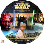 Star Wars I: The Phantom Menace (1999) R1 Custom Label