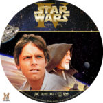 Star Wars IV: A New Hope (1977) R1 Custom Label