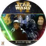 Star Wars VI: Return of the Jedi (1983) R1 Custom Label