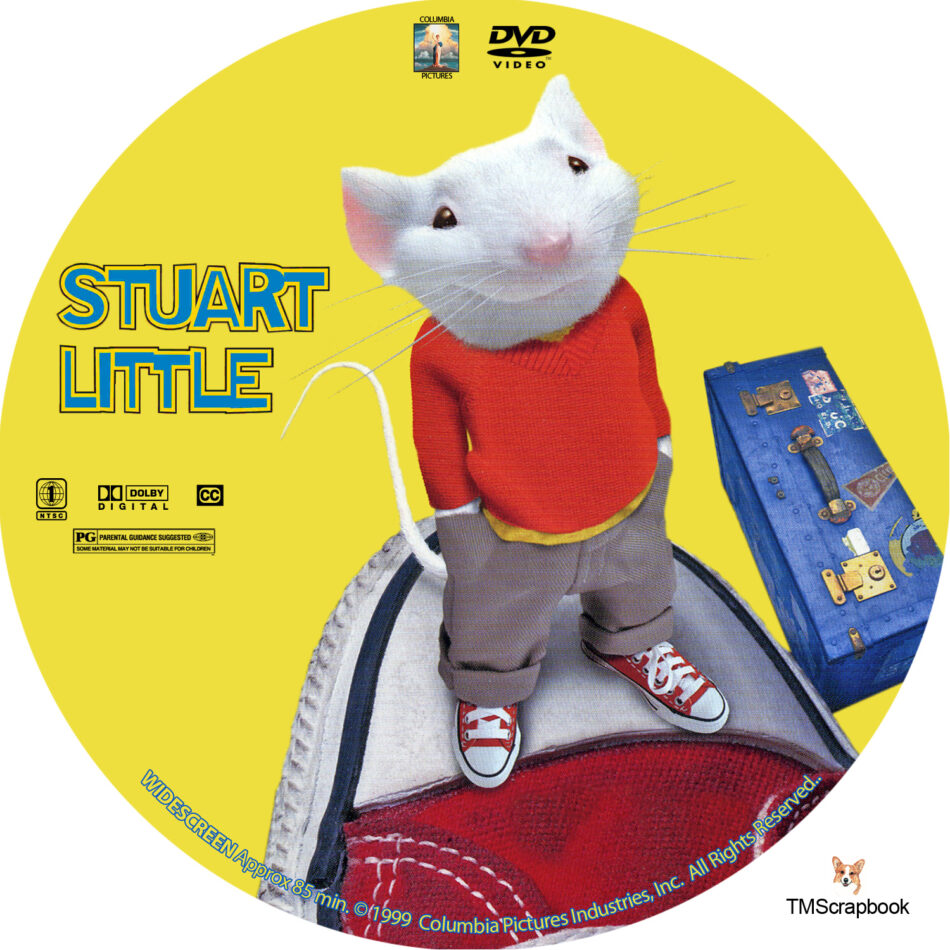 Stuart Little Dvd Label 1999 R1 Custom