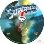 Superman: The Movie (1978) R1 Custom Labels